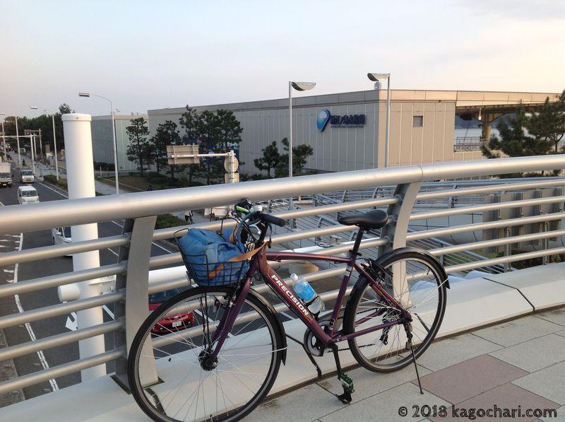 江の島水族館前の写真