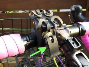 自転車用スマホホルダー台座取り付けの画像-02