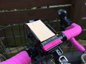 自転車用スマホホルダー台座取り付けの画像-03