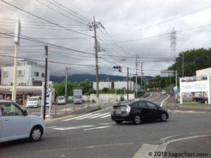 名古木交差点の画像