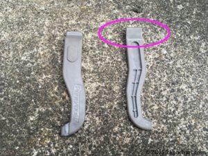 タイヤレバー取り付け時の使い方