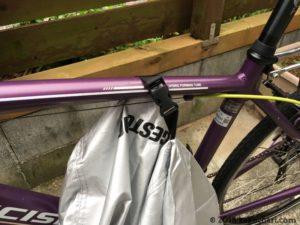 自転車カバーのバックル説明