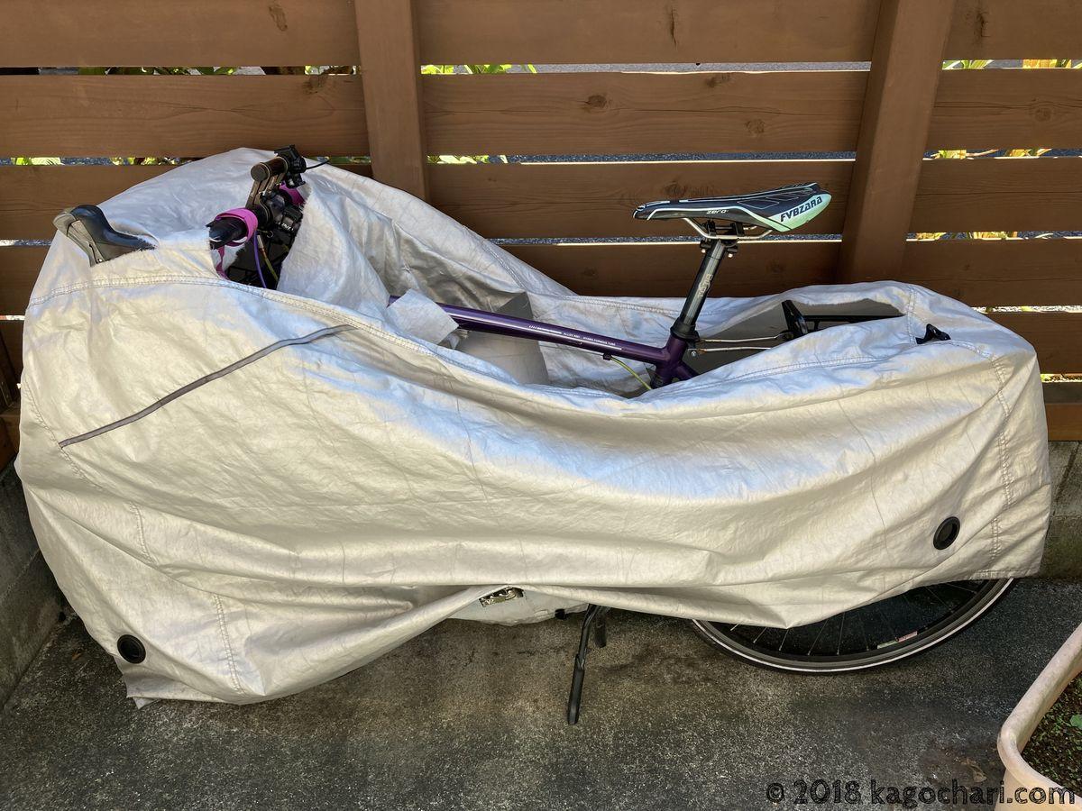 自転車カバーを2,3年使用してみて