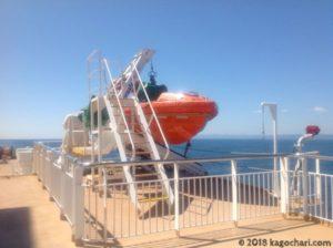 救助用のボート