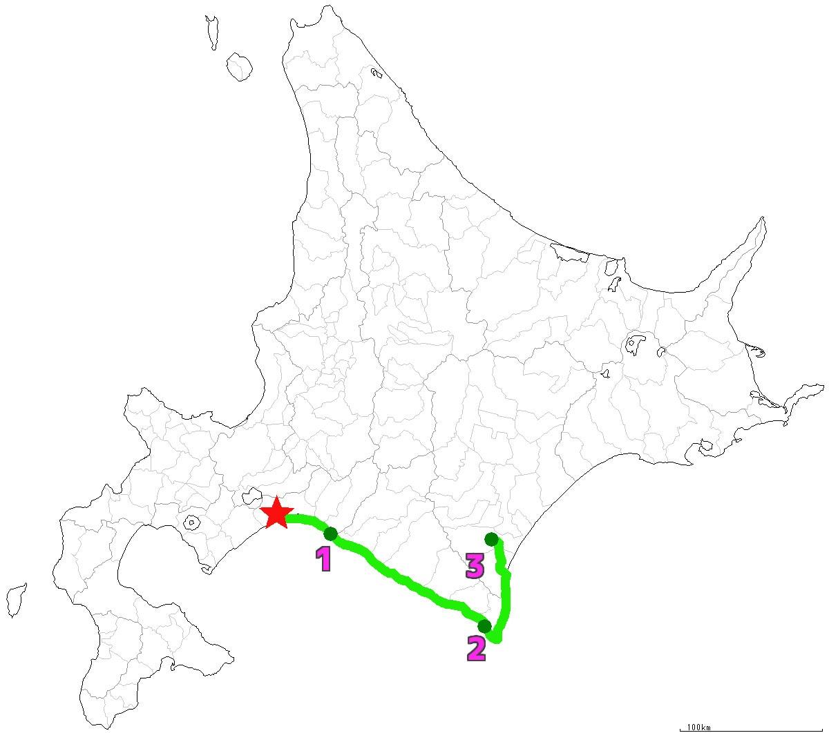 北海道3日目終了