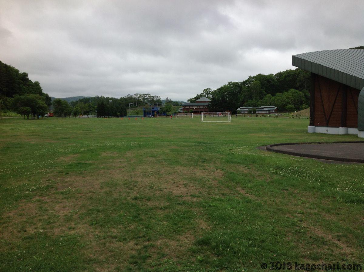 うらほろ森林公園-サッカー場