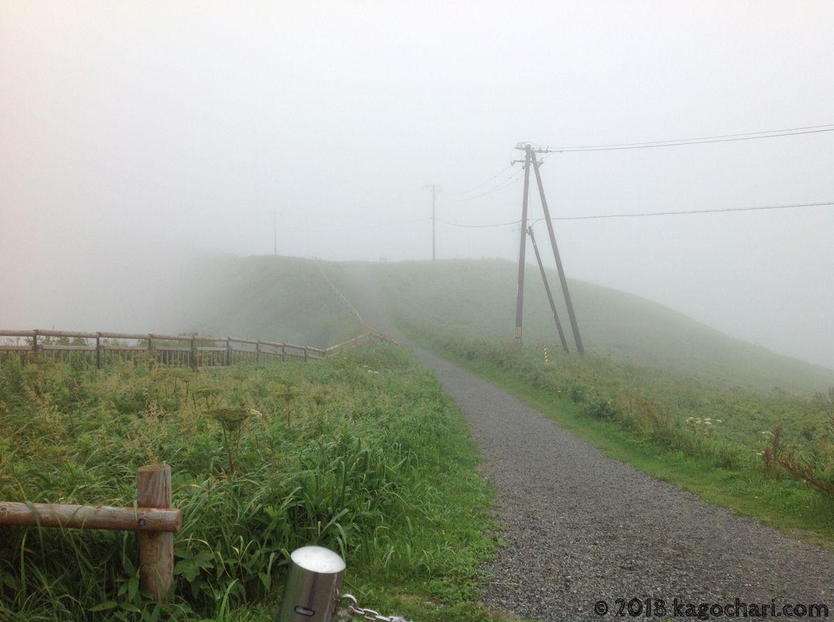 霧多布岬へ