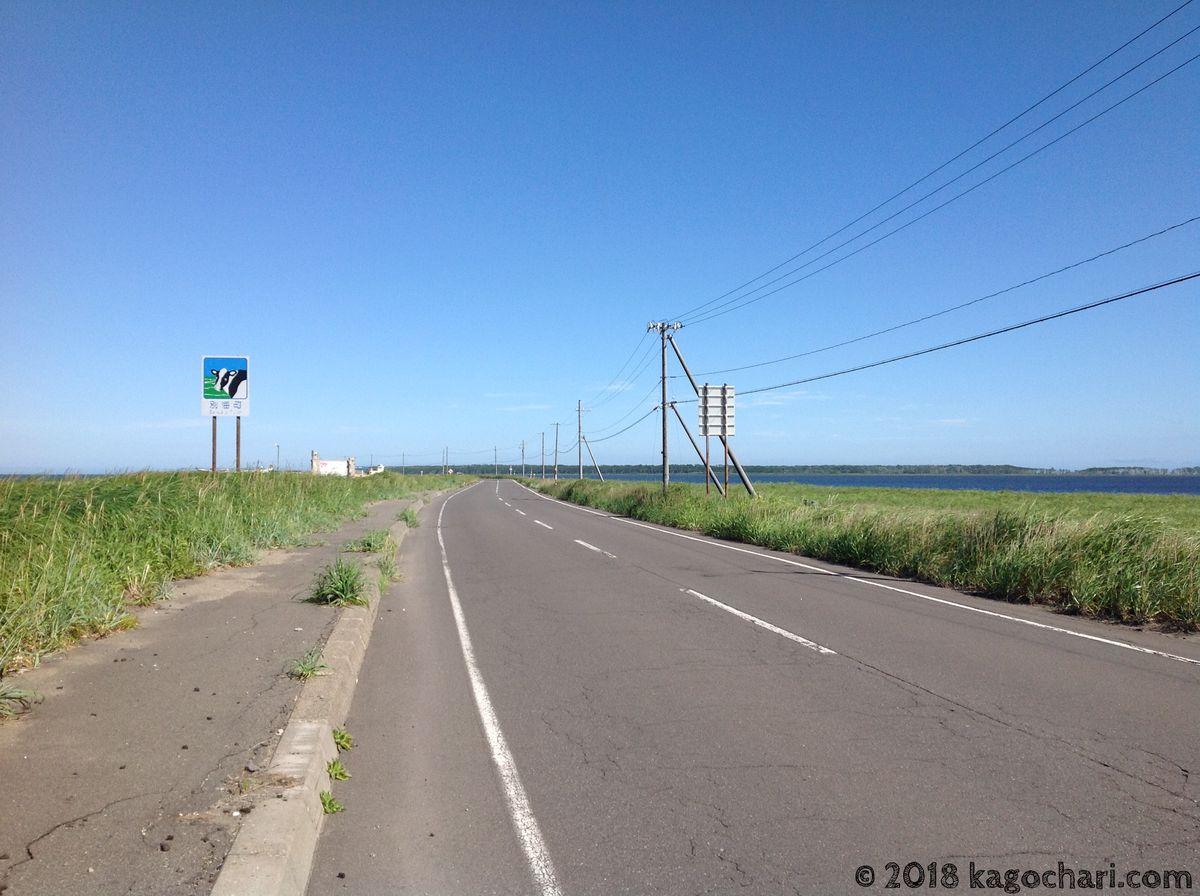 野付半島を自転車で走る-02