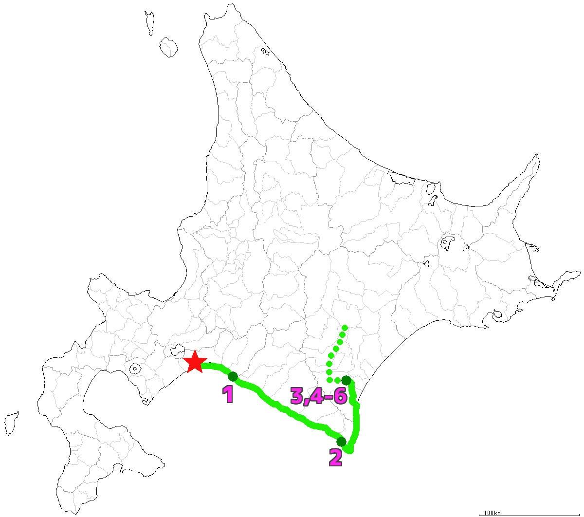 北海道4-6日目終了