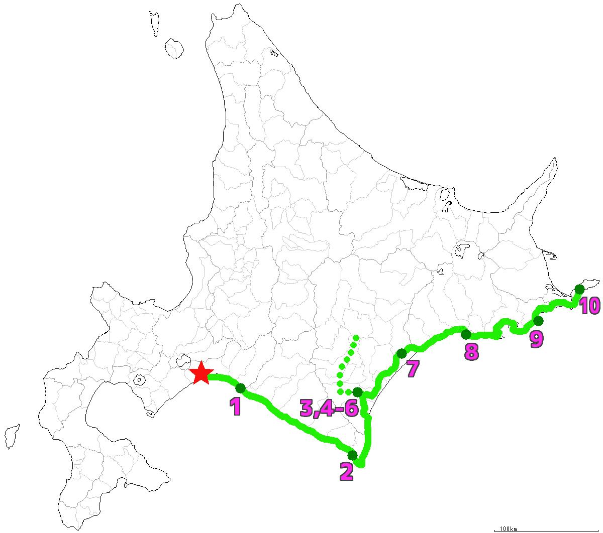 北海道10日目終了