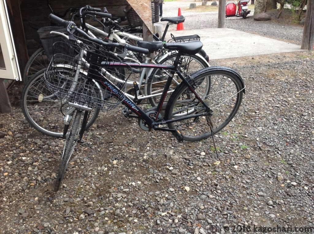 レンタル自転車にプレシジョントレッキング