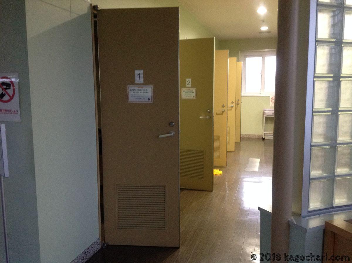 稚内ポートサービスセンター-シャワー室