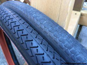 新旧タイヤ比較