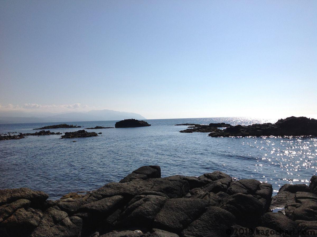 日本海黄金岬の磯部