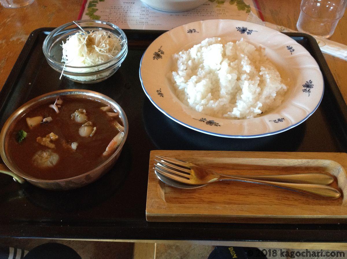 喫茶POLKU(ポルク)-シーフードカレー