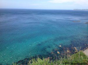 神威岬の海-北側