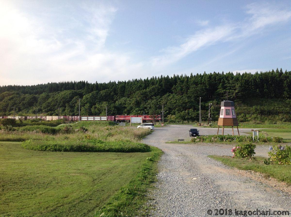 函館に向かう電車