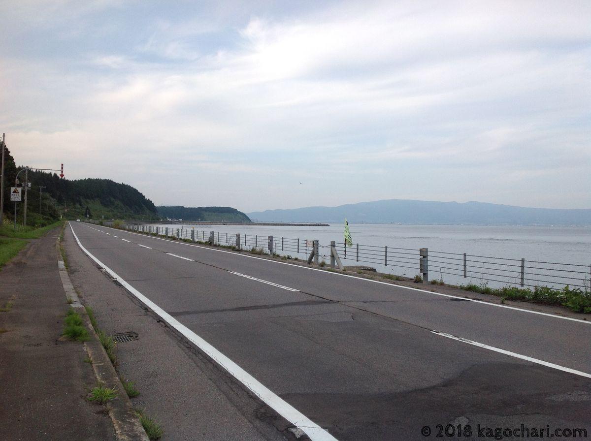 国道228号-函館付近
