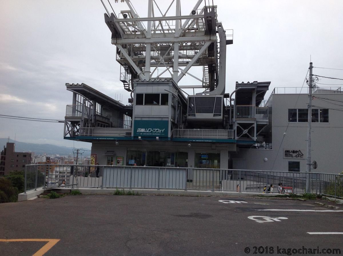 函館山ロープウェー乗り場