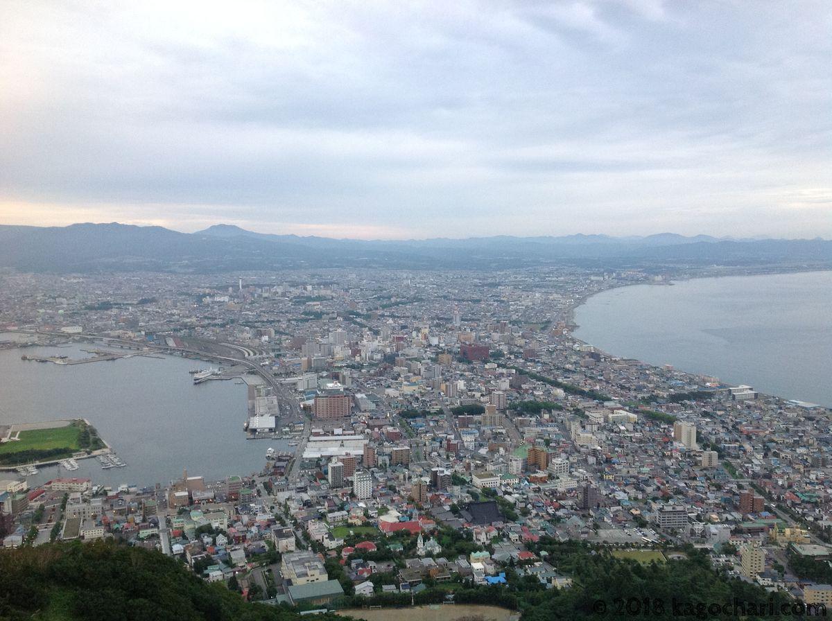 函館山-夕方