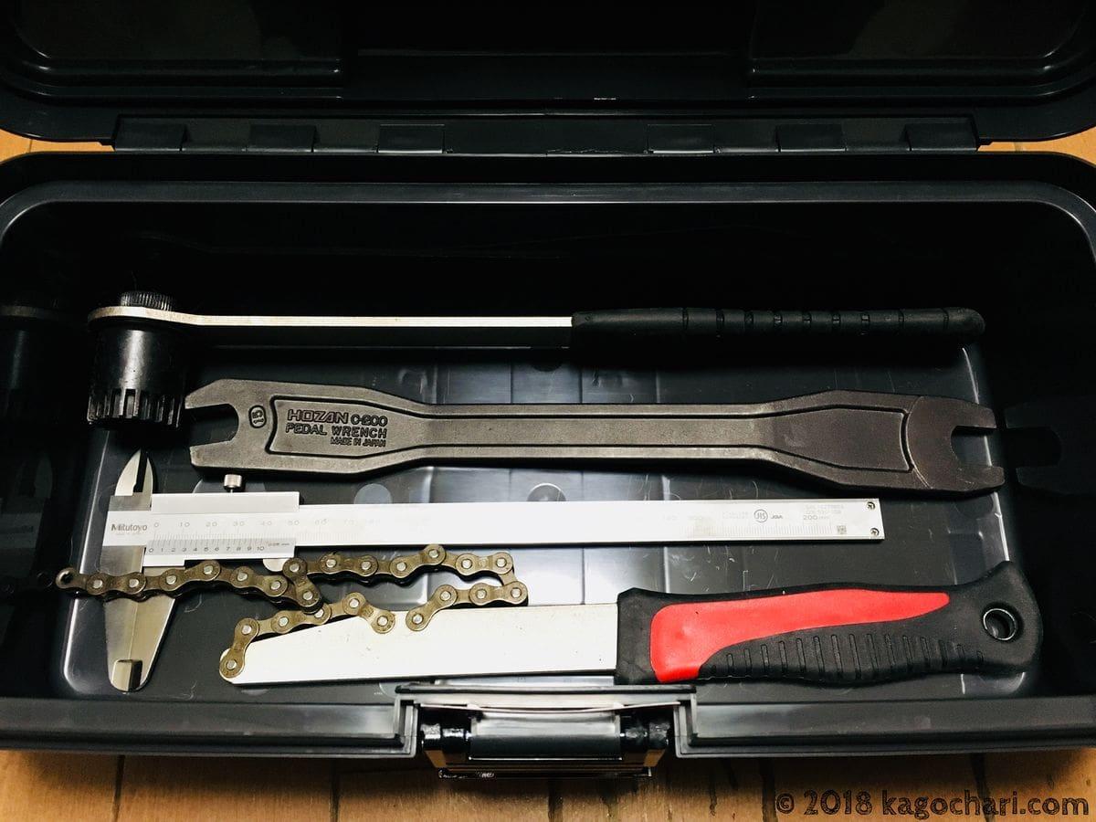 SR-385グレー-収納できる限界工具