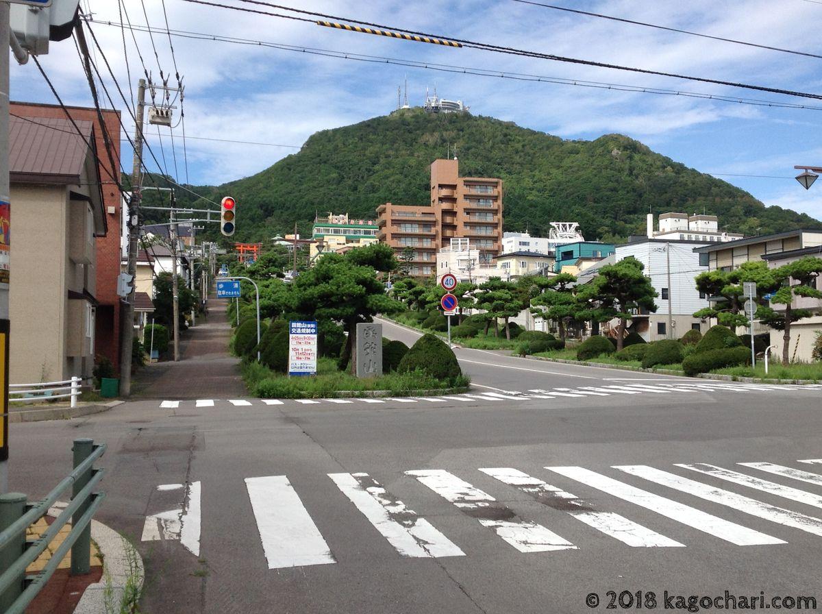 函館山を後にする