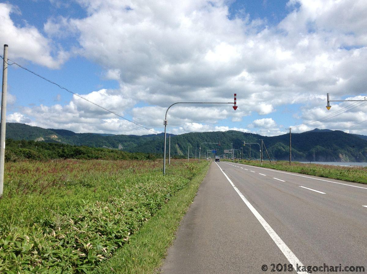 北海道一周最後の峠へ