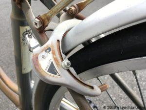 馬蹄錠の劣化が顕著