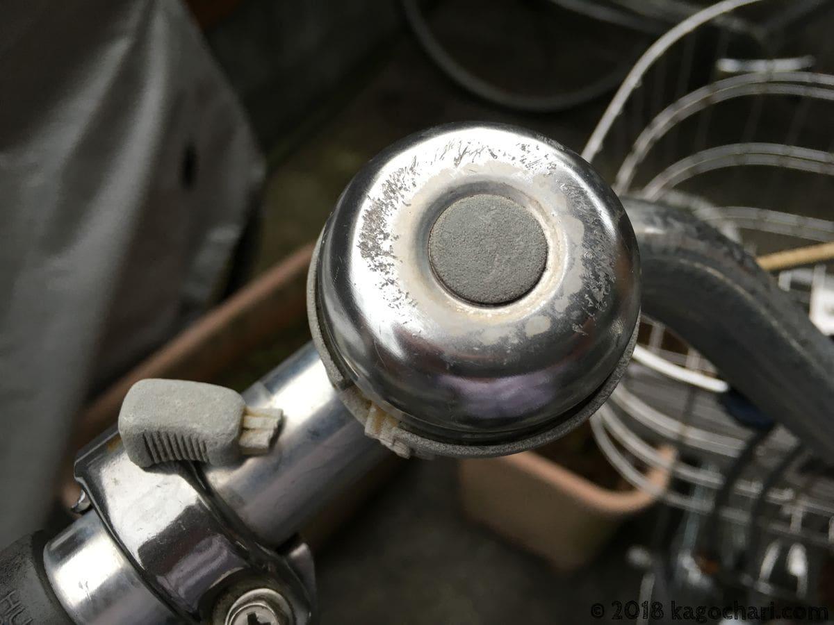 自転車のベルの取っ手が折れる