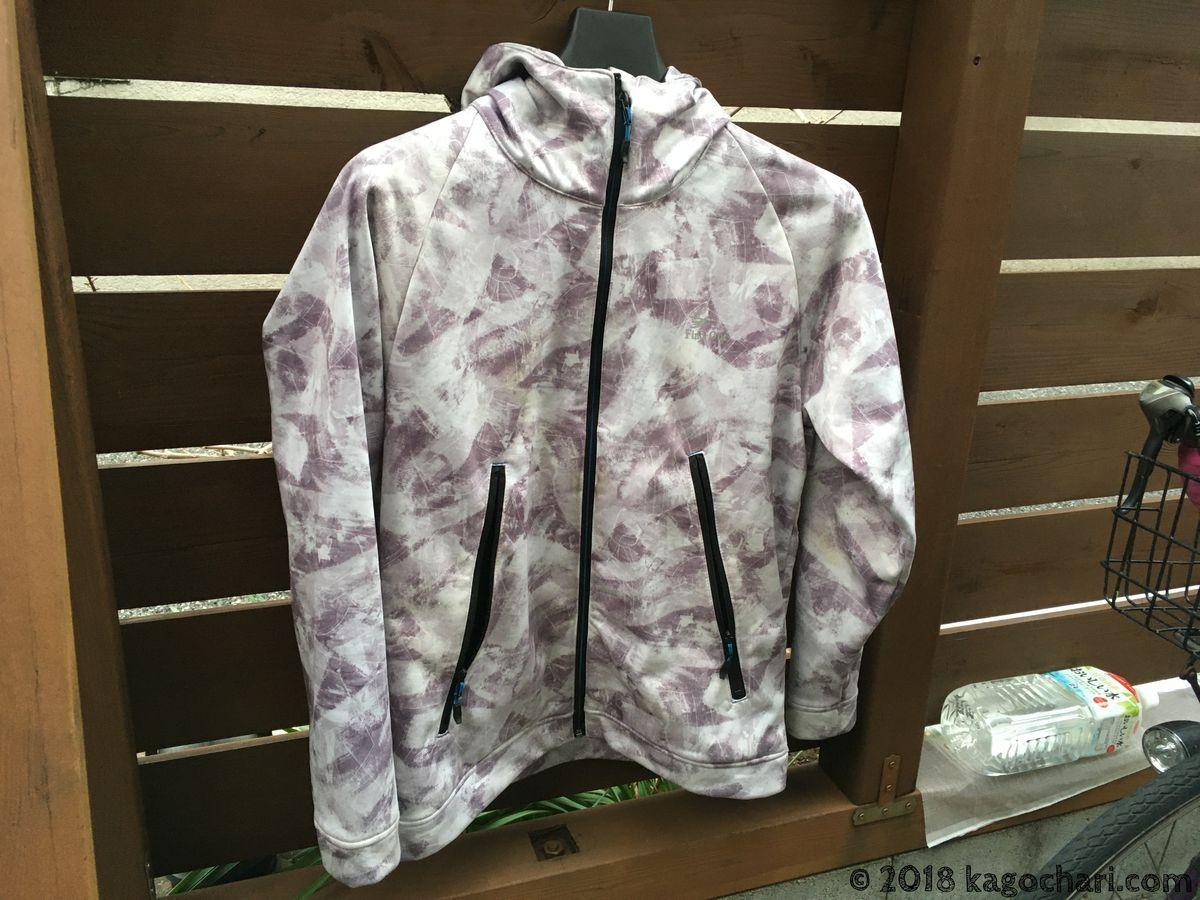 冬の教習所服装-ワークマンFind-Out-耐久撥水STORMSHIELDジャケット