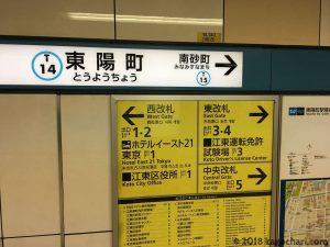 運転免許更新-最寄り駅東陽町