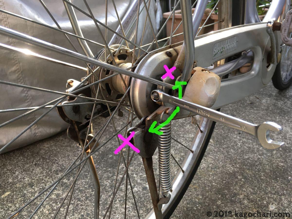 自転車整備におけるコンビネーションレンチの欠点