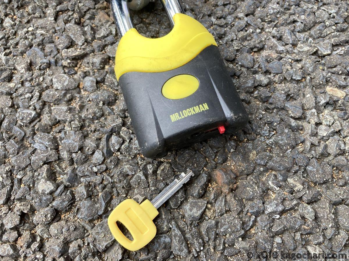 ML019-2000-パッドロックと鍵