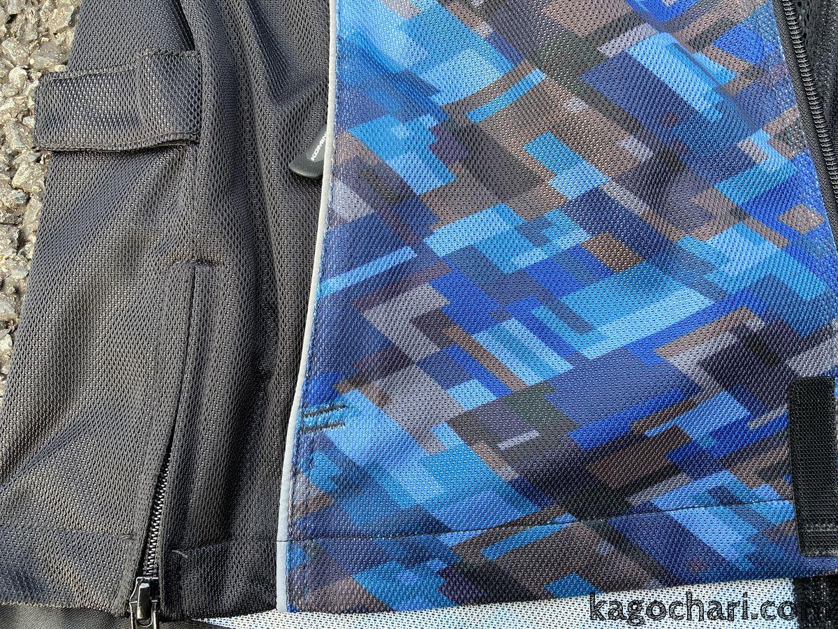 フルメッシュジャケット-JK-128-生地アップ