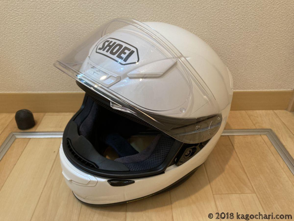 クロスカブ用ヘルメット選び-SHOEI-Z-7
