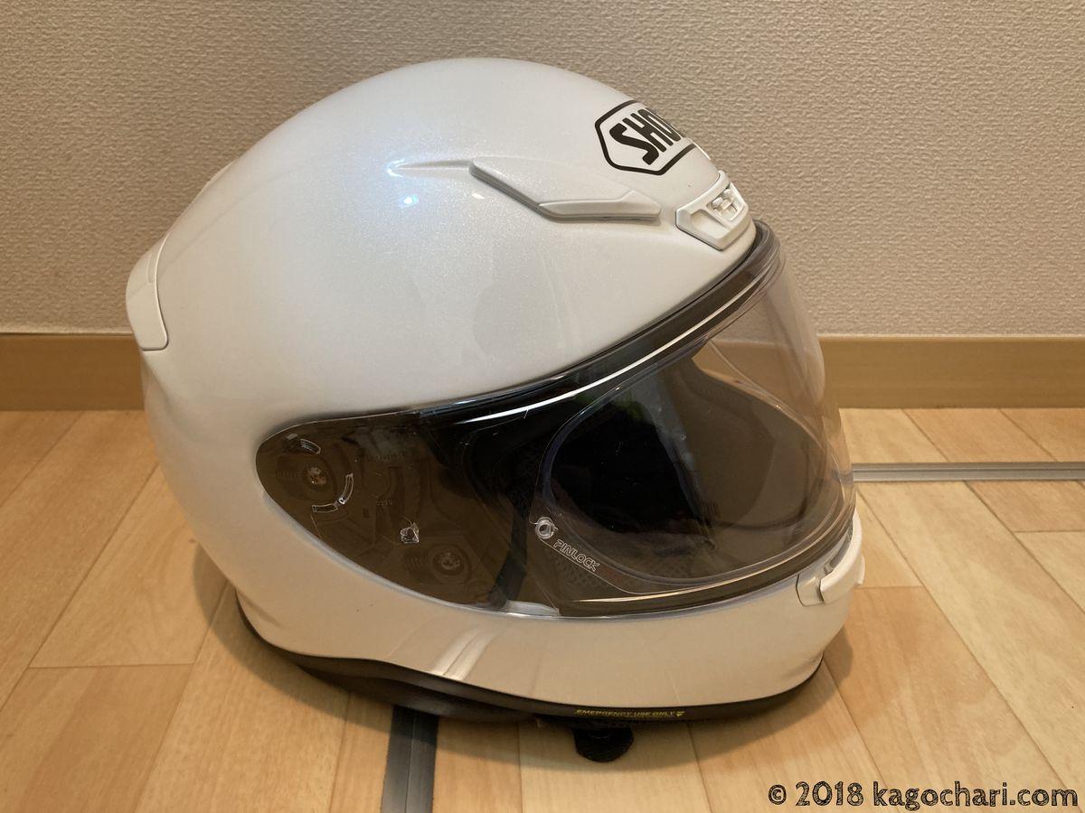頭大きい人のヘルメット選び-SHOEI-Z7